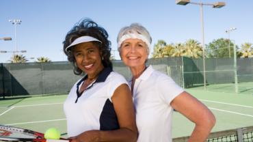 Ladies Festive Monday Evening Tennis